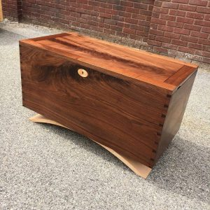 hand-crafted chest rustic contemporary